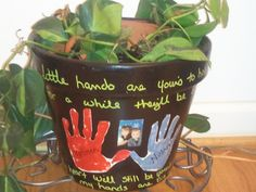"""""""My little hands are your's to hold, and for awhile they'll be small. My heart will still be yours to keep when my hands are big and I am tall!"""" Love this poem for Mothers Day crafts!"""