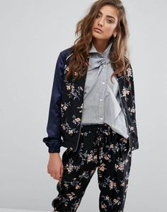 Miss Selfridge Floral Bomber