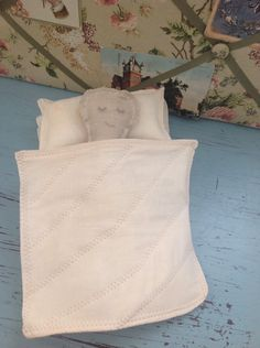 A personal favorite from my Etsy shop https://www.etsy.com/listing/260522757/baby-doll-vintage-bedding-sugar-sack