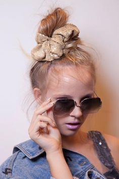 #HairTrend Alert: Scrunchies are back! We're not sold yet. How about you? #throwbackthursday
