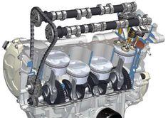 BMW S 1000 RR Motor