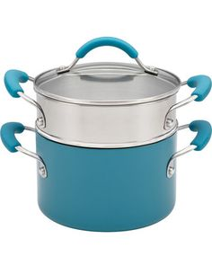 Kitchenaid KitchenAid Porcelain Nonstick 3-qt. Covered Saucepot with Steamer Insert from Kohl's | BHG.com Shop