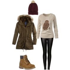 "Totally aritzia inspired! ""Winter Hike outfit"" by rosalove567 on Polyvore"