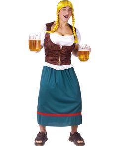 Beer Girl Mens Costume | BUCKS AND HENS Oktoberfest party costume