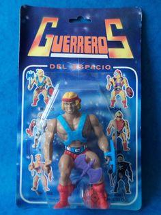Vintage Figure - HE MAN BOOTLEG FIGURE - MOC - Sealed Retro K.O Toy