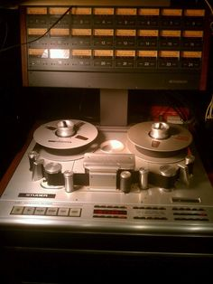 Studer A827 24-Track Multitrack Recorder. Hey, this is dreamland ok!
