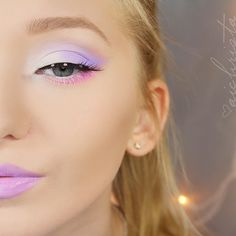 Little fairy @aichrista looks so cute in Palette d'Antoinette!  It's almost SOLD OUT, so if you like pastel eyeshadows get it now!