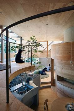 The House Positions Itself In Okayama Prefecture Near Seto Inland Sea. The  Site Is Located On A Terraced Mountain Hill That Was Developed As A  Residential ...
