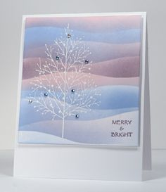 Striped sky (Merry Christmas, Heather Telford  Dec 25/12) - picture only