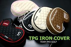 PMJ GOLF STUDIO Special iron head covers