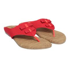 #cocoon red #flat #chappal only at Rs.956 Buy >>