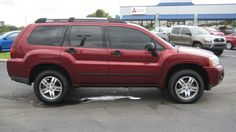 2006 Mitsubishi Endeavor LS LS SUV 4 Doors Ultra Red Pearl for sale in Orlando, FL http://www.usedcarsgroup.com/used-2006-mitsubishi-endeavor-orlando-fl-4a4mm21s56e067716
