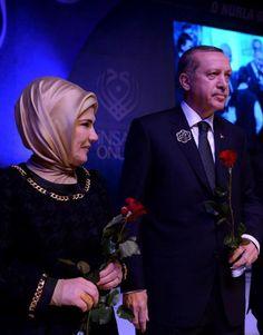 Emine Erdoğan & Recep Tayyip Erdoğan ☪