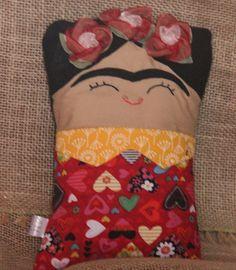Naninha Frida Kahlo | Toys & Arts daLiz | Elo7