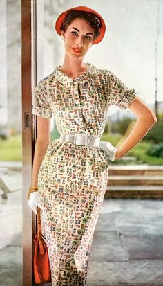 Nancy Berg by Lillian Bassman 1954