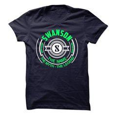 I Love Swanson the myth the legend Shirts & Tees