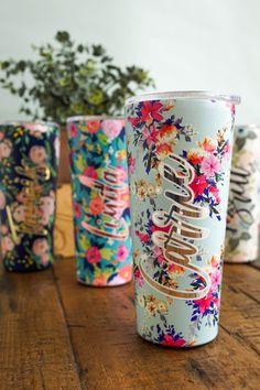Diy Tumblers, Personalized Tumblers, Personalized Coffee Mugs, Custom Tumblers, Glitter Tumblers, Glitter Cups, Personalized Products, Coffee Tumbler, Tumbler Cups