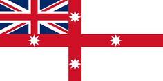 Bandeira Colonial Nacional da Austrália  1823–1831