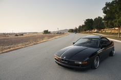 BMW 850i by Dylan Leff