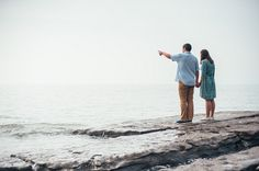 Steve & Rachel's Engagement photos on a South Wales beach   Mustard Yellow Photography #engaged