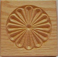 3 5 Carved Wood Rosette Corner Block Oak Alder Pine DD | eBay