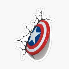 Captain America Shield Stickers