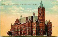 Syracuse New York NY 1912 Crouse College Syracuse University Vintage Postcard