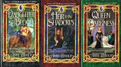 The Black Jewels Trilogy. My favorite books in the entire world. Started reading then when I was in early high school and I really feel it shaped who I am today.