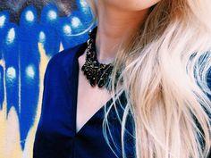 #zara #ornamental #necklace