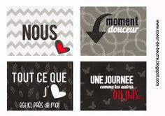 Des étiquettes gratuites Project Life en français - coeur de beurre scrapbooling et fantaisies