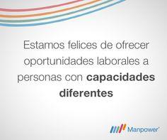 En Manpower promovemos la inclusión laboral.