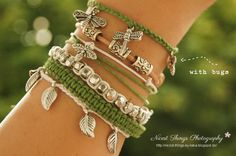 * Nicest Things: DIY: Nature Love Bracelets