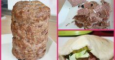 """Fabulosa receta para Doner Kebab casero. El kebab quizá sea, dentro de las catalogadas como """"comida basura"""" la menos habitual de preparar en casa, pero como vais a poder ver, es sencillisima de preparar, os animais??"""