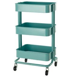Råskog Kitchen Cart  Price: $49.99 from IKEA.  Kitchen cart, nightstand or bar cart, this handy guy could be anything. And it's oh-so-cute.