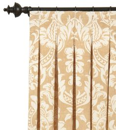 Inverted Pleat - Churchill Curtain Panel from Eastern Accents