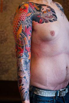 irezumi,horimatsu,Matti Sedholm, japanese tattoo, ryu, japanese dragon (9 of 11)