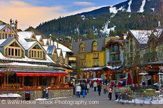 Whistler Village, British Columbia, Canada