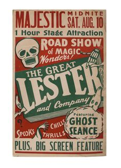 The Great Lester and Company Featuring Ghost Seance