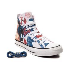 b956ebbd407e Lace up your superhero style with the Wonder Woman Sneakers from Converse!  Available only at