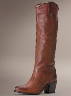 $368.00 Frye Boot (Jackie Button- Cognac) Call to Order 212-367-0996 Mention Pinterest to receive 10% off your purchase!