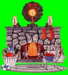 animatede gif christmas scenes | Animated Christmas Clip Art