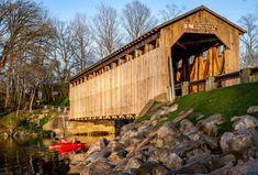 Fallasburg Covered Bridge Just North of Lowell  http://www.onlyinyourstate.com/michigan/covered-bridges-mi/