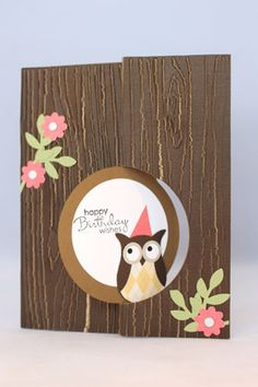 Hooty Birthday Wishes (closed) by emarcks - Cards and Paper Crafts at Splitcoaststampers