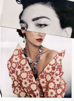 {fashion inspiration | editorial : lost in details} by {this is glamorous}, Paolo Roversi photo
