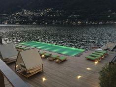 @ilsereno #hotel Lake of Como Italy By Patricia Urquiola
