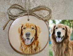 Check out this item in my Etsy shop https://www.etsy.com/listing/263576757/custom-pet-portrait-ornament-on-wood