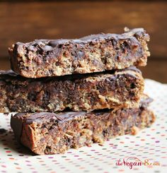 Almond Pulp Makes The Best Chocolate Chip Bars