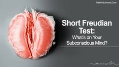 Let dive deep into your subconscious mind. Short Freudian Test: What's on Your Subconscious Mind? What Is Mindfulness, Mindfulness Meditation, Freudian Psychology, Psych Test, Mental Illness Test, Mind Test, Personality Profile, Personality Tests, Mental Breakdown