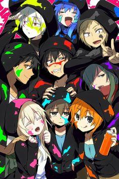 Kano, Shintaro, Ene, Konoha