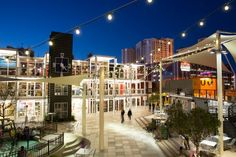 Container Park Las Vegas, Nevada. Places to eat and drink in Las Vegas by Bon Appetit